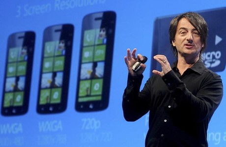 Joe Belfiore, vicepresidente de mviles de Microsoft, presenta Windows Phone 8.