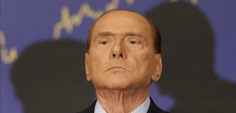 Berlusconi, en un acto pblico reciente.