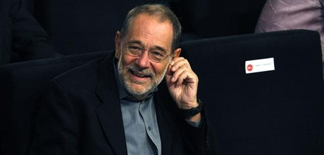 Javier Solana, in an act of the PSOE in 2011.