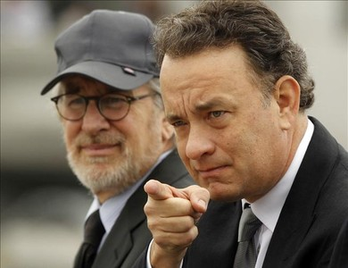 Steven Spielberg, Tom Hanks, television. cinema, film, HBO