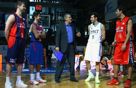 Presentacin de la Liga Endesa, en Madrid.
