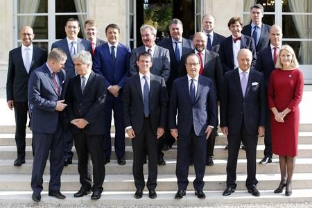 El front europeu davant les pol�tiques antid�ficit de Merkel.