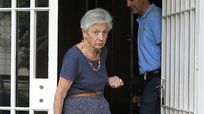 Marta Ferrusola a un periodista: Váyase a la mierda