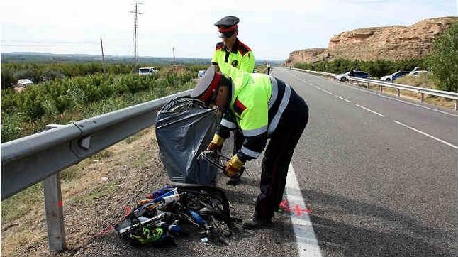 Detenido el autor del atropello mortal a dos ciclistas en Lleida