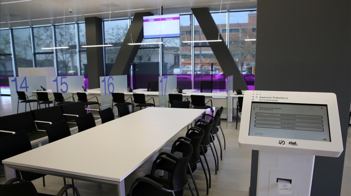 la hacienda catalana abrir 11 oficinas hasta el 2017