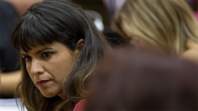 Teresa Rodríguez denuncia por acoso sexista a un empresario