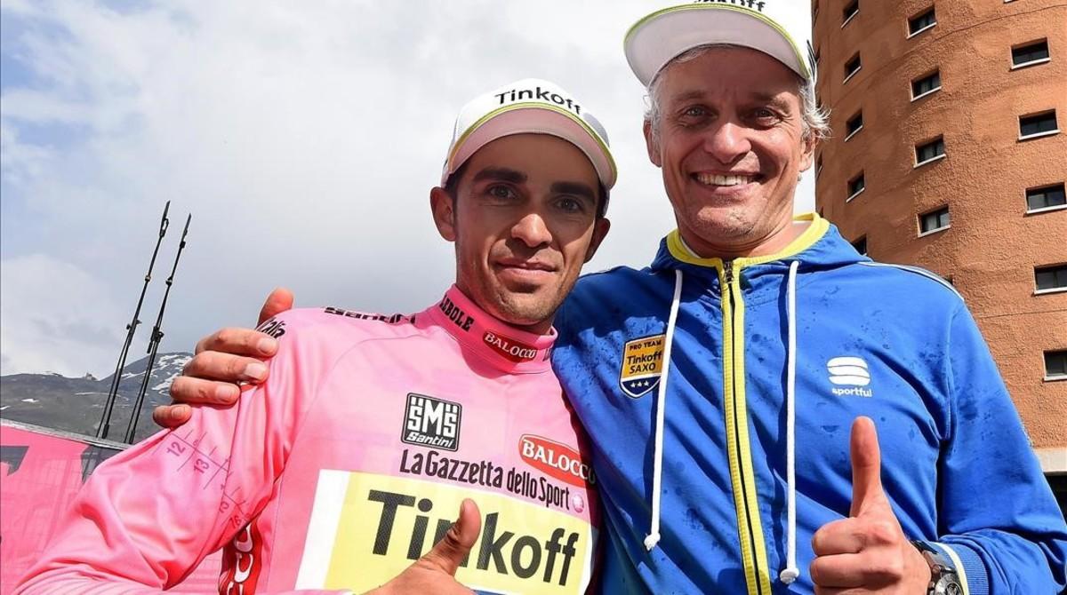 "Tinkov ataca un altre cop: ""Contador és un tros de merda espanyola"""