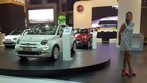 Azafata Automobile Barcelona 2017