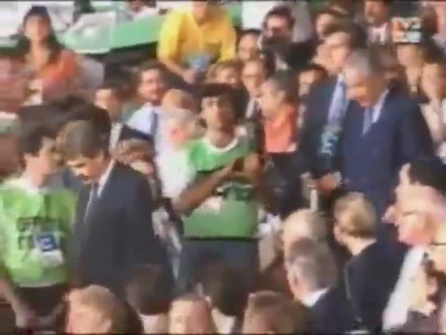 Los JJ.OO de Barcelona 92. Ceremonia inaugural. Los discursos de Maragall, Samarch y el Rey Juan Carlos.