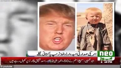 Una televisió pakistanesa llança la teoria que Trump va néixer al Pakistan