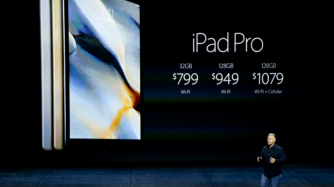 Apple en grans dimensions