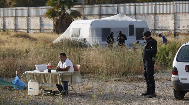 Desalojo campamento en Sant Adri�