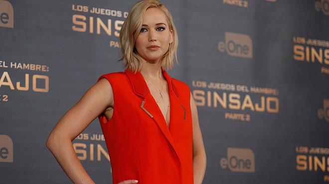 Ryan Collins, el 'hacker' que robó fotos íntimas a variasfamosas, se enfrenta a cinco años de cárcel. En la foto, la actriz Jennifer Lawrence.