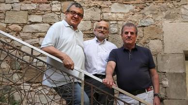 De izquierda a derecha, Cesc Castellana, Carlos Blasco y Luis Campo Vidal.