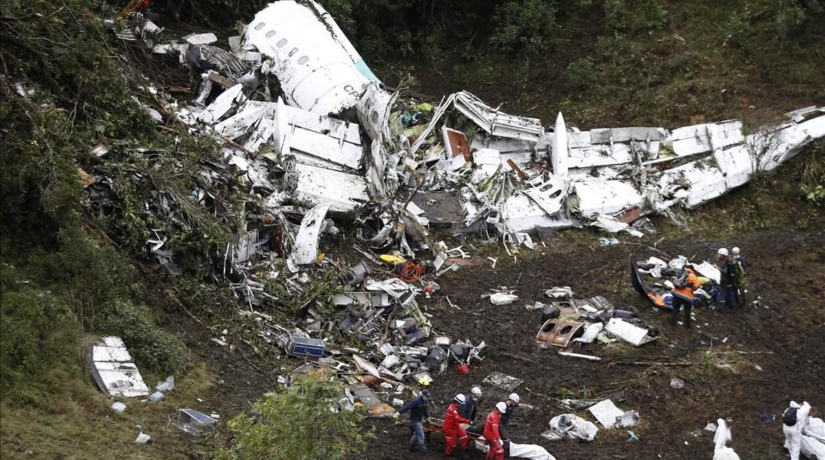 El piloto fue el responsable del accidente aéreo del Chapecoense