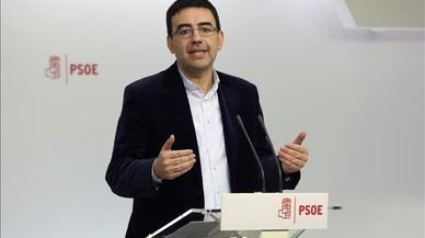 El PSOE fixarà en la seva ponència política que no negociarà la ruptura de la unitat d'Espanya