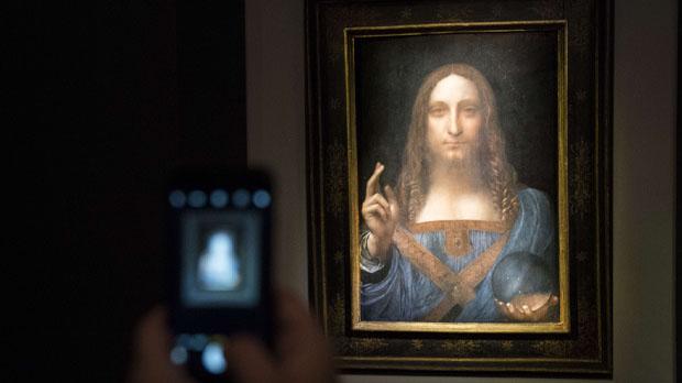 Un quadro de Leonardo da Vinci bat tots els rècords al vendre's per 450 milions de dòlars