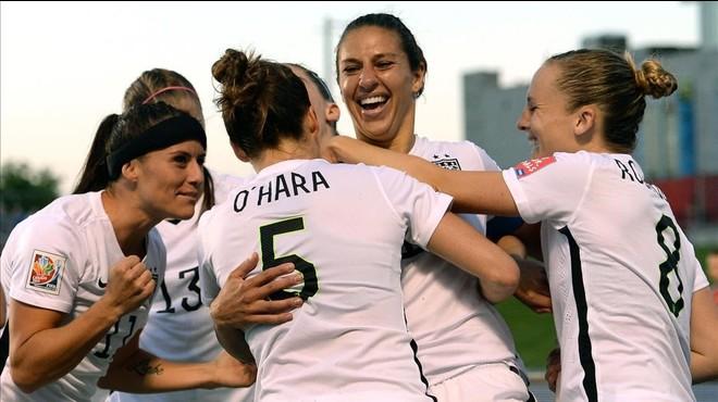 El 'soccer' femení reclama igualtat