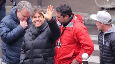 Tom Cruise, en París por el rodaje de 'Misión imposible 6'