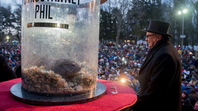 La marmota Phil pronostica un invierno largo