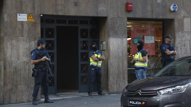 Operaci�n contra el yihadismo en varias ciudades europeas