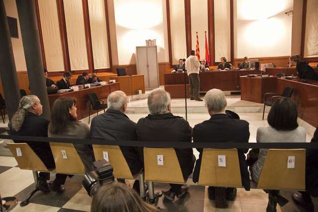 UDC tambi�n pagar� las multas de los condenados del 'caso Pallerols'