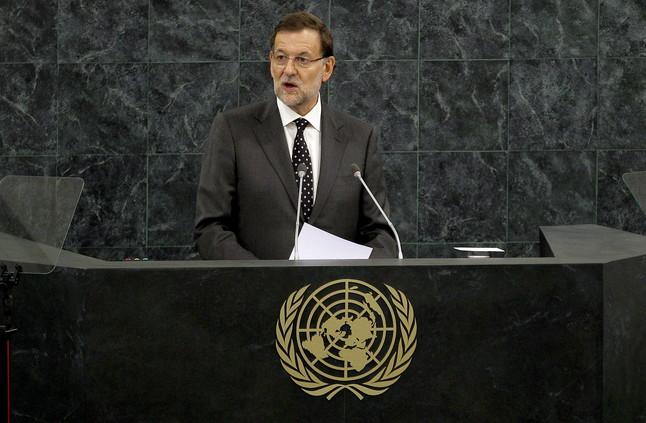 """Rajoy insta el Regne Unit davant l'ONU a abordar la """"descolonitzaci�"""" de Gibraltar"""