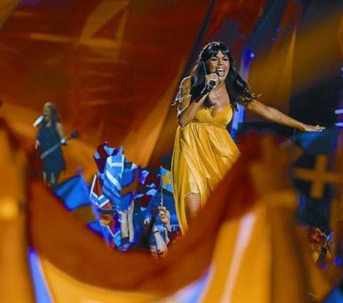 """Raquel del Rosario: """"Eurovisi�n ha supuesto una cura de ego para m�"""""""