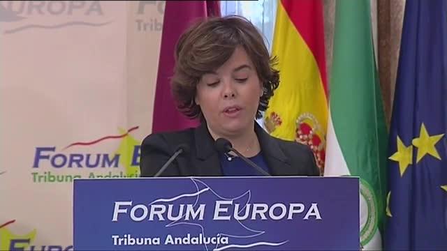 """Santamaría: """"Si hay voluntad, habrá nuevo modelo de financiación autonómica"""""""