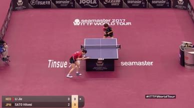Un punt rècord de ping-pong de més de 10 minuts i 766 cops