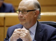 El ministro de Hacienda, Cristóbal Montoro, durante el debate de los Presupuestos del 2017.
