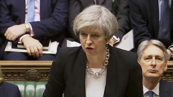 """Theresa May: """"No tenim por"""""""