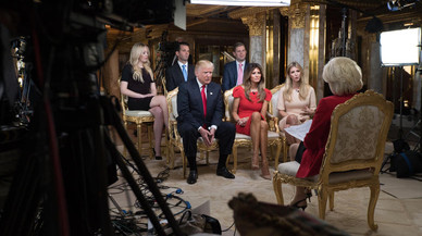 La primera entrevista de Trump, en sis claus