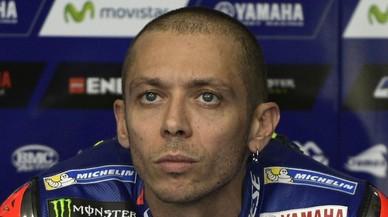 Valentino Rossi, en el hospital con traumatismo torácico tras un accidente