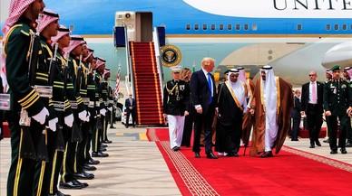 Trump realinea els EUA amb l'islam sunnita en el seu viatge a Aràbia Saudita