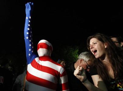 Los ciudadanos de Washington han salido a la calle y han celebrado frente a la Casa Blanca la muerte de Bin Laden.
