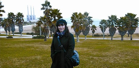Playa del Fòrum «En invierno, este lugar es idílico»CON LAS TRES
