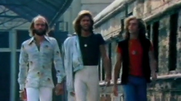 V�deo original de 'Staying' alive', de Bee Gees.
