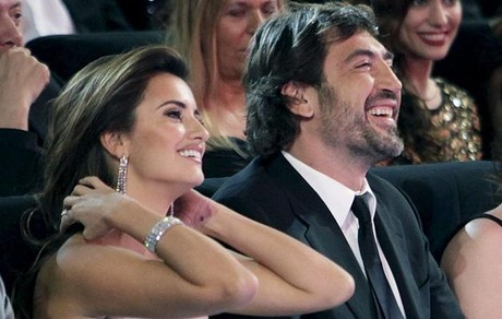 Penlope Cruz y Javier Bardem, juntos en la gala de los Goya del 2010.