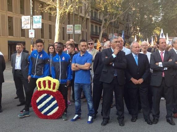 El Espanyol homenajea a Rafael Casanova