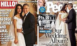 '�Hola!' y 'People' lanzan especiales de la boda de Clooney