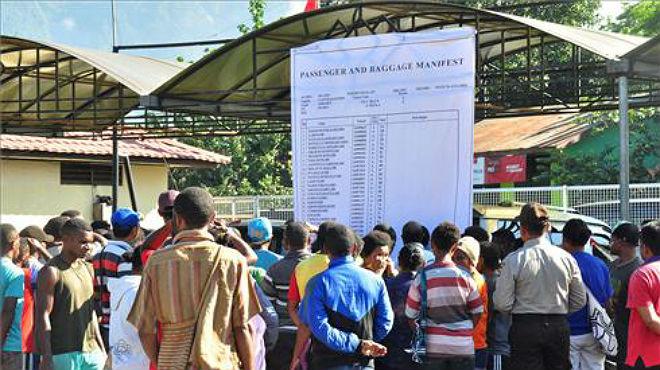 Recuperados los cuerpos de los fallecidos en el accidente de avión de Papua