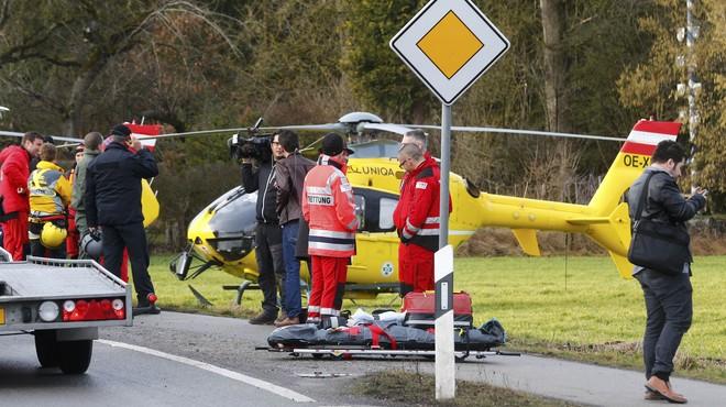 Un xoc frontal de trens deixa 10 morts i 150 ferits a Baviera