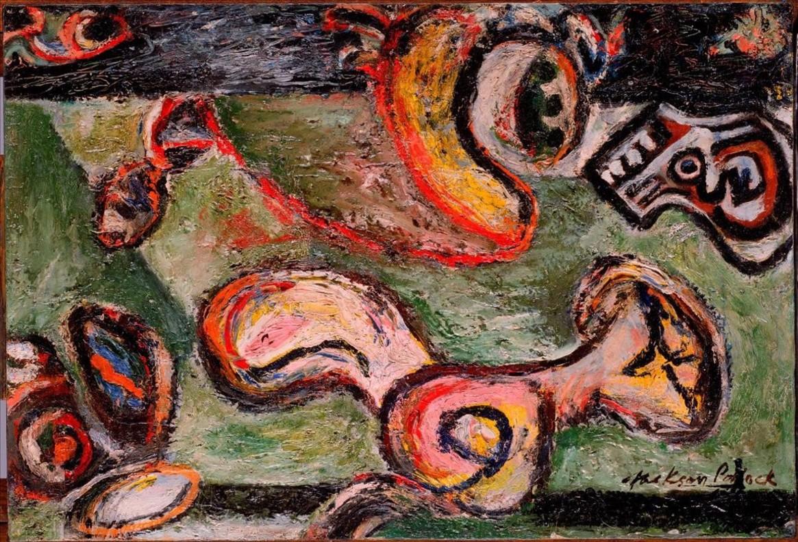 Composición, de Jackson Pollock.