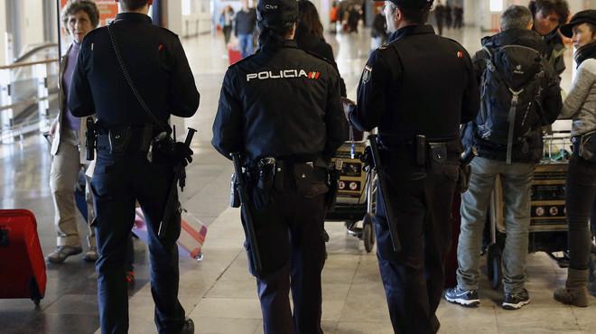 La policia alerta contra les boles sobre un imminent atemptat terrorista