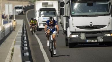 Els ferits en accident de bici s'han doblat des del 2010