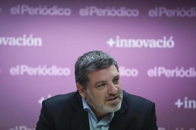 <b>EL PRESIDENTE.</b> <br/>Calbet afronta el futuro como cara visible de una nueva patronal catalana para el comercio.