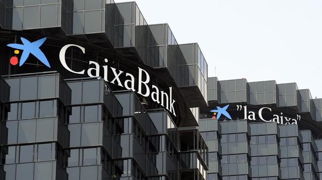Sede de CaixaBank, en la Diagonal de Barcelona.