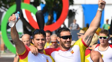Saúl Craviotto i Cristian Toro aconsegueixen la cinquena medalla d'or a Rio 2016