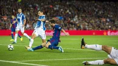 Messi s'apodera del derbi